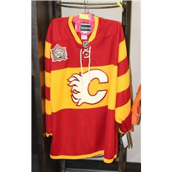 CALGARY FLAMES HERITAGE CLASSIC 2011 SIZE XL