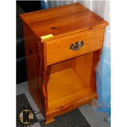 VINTAGE KNOTTY PINE NIGHT STAND