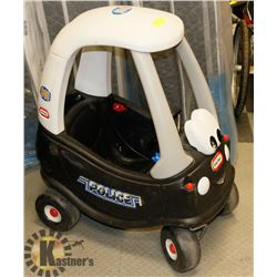 LITTLE TIKES POLICE CAR.