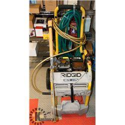RIDGID PORTABLE 3000PSI POWER WASHER, GAS ENGINE