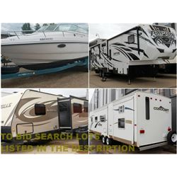FEATURED BOATS, TRAILERS AND TOY HAULERS