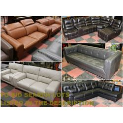 FEATURED NEW SOFA SETS AND SECTIONALS