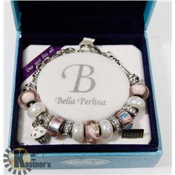 NEW PINK BELLA PERLINA BRACELET - RETAILS $125.00