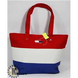 TOMMY HILFIGER REPLICA RED, WHITE & BLUE BAG