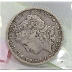 1878 USA MORGAN $1 COIN