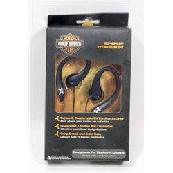 NEW HARLEY DAVIDSON FITNESS EAR BUDS