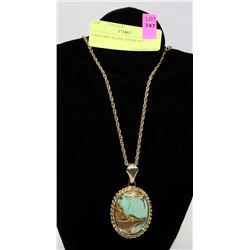 LAPIDARY STONE NECKLACE