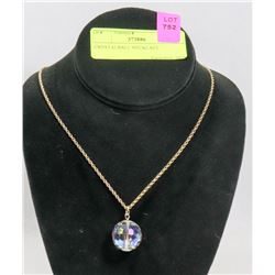 CRYSTALBALL NECKLACE
