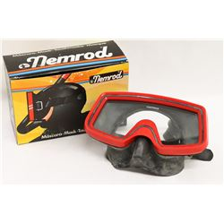 NEMROD UNDERWATER MASK RED