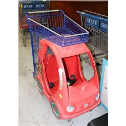PERSONAL SIZE COMMERCIAL BEAN SHOPPING CART