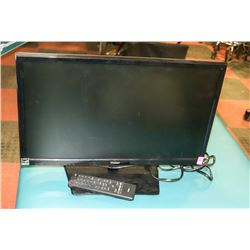 "HAIER 22"" LED TV WITH REMOTE. ELECTRONICS"