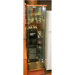 5' UPRIGHT DISPLAY CABINET