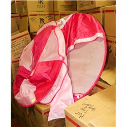"PINK KIDS 42"" HIGH ROUND PLAY TENT"