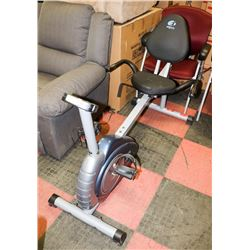 PT FITNESS RECUMBENT BIKE.