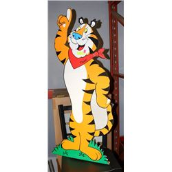 VINTAGE TONY THE TIGER ADVERTISING STAND UP.