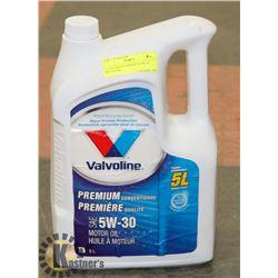 5L VALVOLINE PREMIUM 5W-30 MOTOR OIL