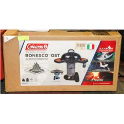 COLEMAN BONESCO-QST GAS ASSISTED CHARCOAL GRILL