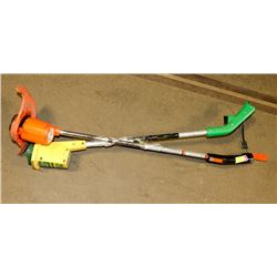 LOT OF 2 ELECTRIC WEEDEATERS