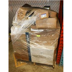 PALLET OF ASSORTED STEERING AND SUSPENSION PARTS
