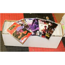 BOX OF ASSORTED COMIC BOOKS, MOSTLY SUPERHERO,