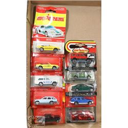 FLAT OF NEW OLD STOCK MAJORETTE COLLECTOR CARS
