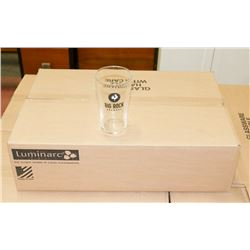 CASE OF 24 BIG ROCK BREWERY BEER GLASSES