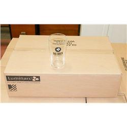 CASE OF 24 BIG ROCK BREWERY BEER GLASSES