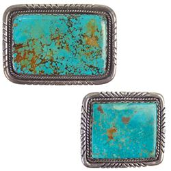 His and Hers Navajo Buckles