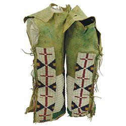 Arapaho Beaded Leggings