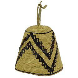 Nez Perce Corn Husk Hat
