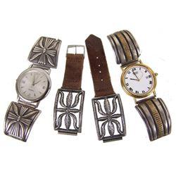 3 Sets of Navajo Watch Tips