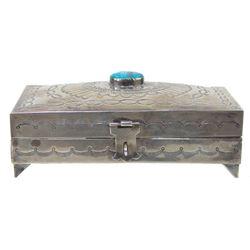 Navajo Silver Box - Sus