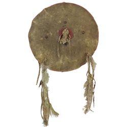 Plains Buffalo Hide Shield