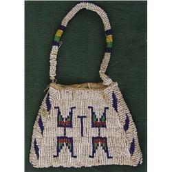 Sioux Beaded Hand Bag