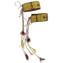 Sioux Quilled Armbands