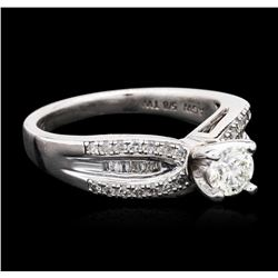 Silver 0.75 ctw Diamond Ring