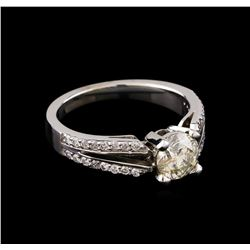 1.34 ctw Diamond Ring - 14KT White Gold
