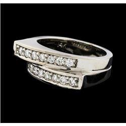 0.44 ctw Diamond Ring - 14KT White Gold