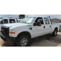 2009 FORD F250 SUPER DUTY