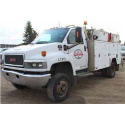 2005 GMC C5500 C5C042 CAB CHASSIS