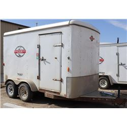 2012 6 X 10 CARRY-ON CARGO TRAILER