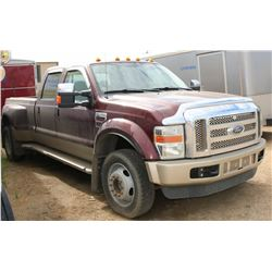 2009 FORD F450 SUPER DUTY, 177, 401 KMS