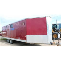 2009 WELLS CARGO 29' V NOSE TRAILER
