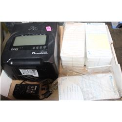 ACROPRINT ATR360 TIME CLOCK/CARD SYSTEM