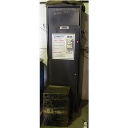 COVERALL LAUNDRY CABINET & SMALL METAL CABINET