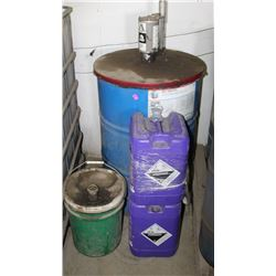 BARREL OF DELO GREASE EP2 WITH DISPENSING LID,