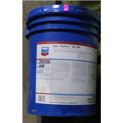 PAIL OF CHEVRON DELO TORQFORCE SAE 10W