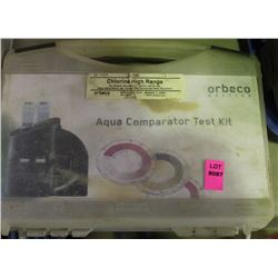 ORBECO AQUA COMPARATOR TEST KIT