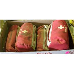 BOX OF FIRST AID KITS