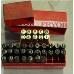 METAL STAMP KITS, LETTERS & NUMBERS